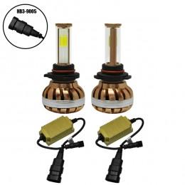 LED HID KIT HB3 9005 45 Watt 4500 Lumen 9-32 Volt DC 6000k GloboStar 99705