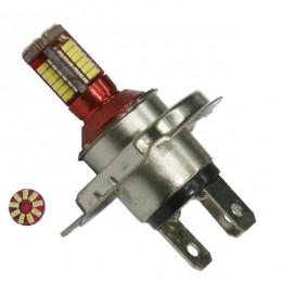 Λαμπτήρας LED H4 Can Bus με 57 SMD 4014 6000k GloboStar 40138
