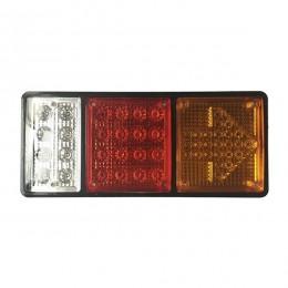 Πίσω Φανάρι Φορτηγού 49 LED 24 Volt Βέλος Universal IP66 GloboStar 75498