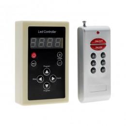 Ασύρματος LED Digital RGB Controller με Χειριστήριο RF για LED Digital RGB Προϊόντα 5v - 12v - 24v 1024 IC - 2048 IC GloboStar 04036
