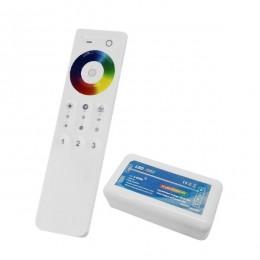 Ασύρματος LED RGB Controller με Χειριστήριο Αφής 2.4G για Ένα Group 12v (144w) - 24v (288w) DC GloboStar 04042