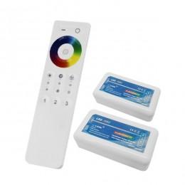 Ασύρματος LED RGB Controller με Χειριστήριο Αφής 2.4G για Δυο Group 12v (288w) - 24v (576w) DC GloboStar 04142