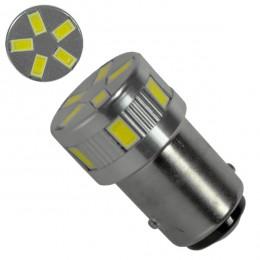 Λαμπτήρας LED 1157 11 SMD 5730 Ψυχρό Λευκό GloboStar 04486