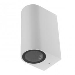 LED Φωτιστικό Τοίχου Αρχιτεκτονικού Φωτισμού Λευκό Up Down GU10 IP65 GloboStar 90095