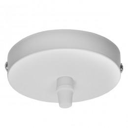 DIY Ροζέτα Φωτιστικού Λευκή Φ100 GloboStar 90800