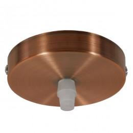 DIY Ροζέτα Φωτιστικού Χάλκινη Φ100 GloboStar 90804