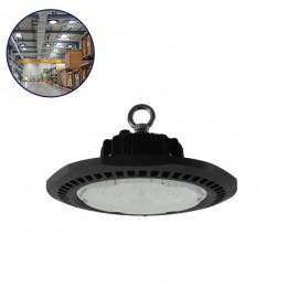 Επαγγελματική Καμπάνα UFO High Bay 100W 230V 14000lm 100° Αδιάβροχη IP66 Ψυχρό Λευκό 5000k GloboStar 78010