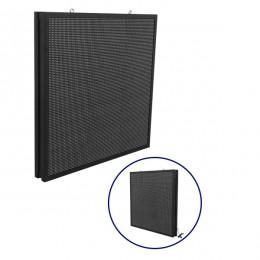 Αδιάβροχη Κυλιόμενη Επιγραφή SMD LED 230V USB & WiFi RGB Διπλής Όψης 100x100cm GloboStar 90132