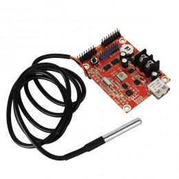 Ασύρματος Controller WiFi TF-SW/TF-S6UW0 με Είσοδο USB και Αισθητήρα Θερμοκρασίας για Μονόχρωμη Κυλιόμενη Πινακίδα LED GloboStar 91106