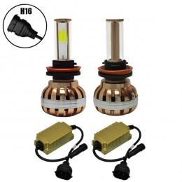 LED HID KIT H16 45 Watt 4500 Lumen 9-32 Volt DC 6000k GloboStar 99710