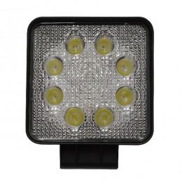 Προβολέας LED Εργασίας Τετράγωνος 24W 10-30V 3360lm 30° Αδιάβροχος IP65 Ψυχρό Λευκό 6000k GloboStar 29988
