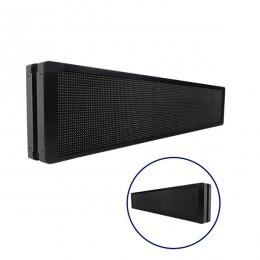 Αδιάβροχη Κυλιόμενη Επιγραφή SMD LED 230V USB & WiFi Πορτοκαλί Διπλής Όψης 168x40cm GloboStar 90157