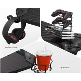 Gaming Αξεσουάρ Γραφείων - Eureka Ergonomic® CA-3R Σετ Γραφείου Gaming