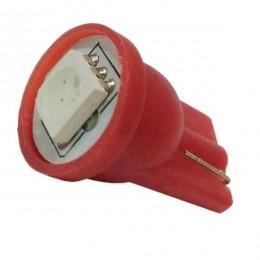 Λαμπτήρας LED T10 με 1 SMD 5050 Κόκκινο GloboStar 81045