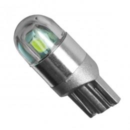 Λαμπτήρας LED T10 12v με 2 SMD 3030 Ψυχρό Λευκό 6000k GloboStar 81043