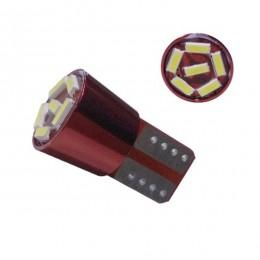 Λαμπτήρας LED T10 6 SMD 4014 Can Bus Ψυχρό Λευκό GloboStar 81107
