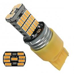 Λαμπτήρας LED T20 7440 με 45 SMD Can Bus 10-30v 4014 Πορτοκαλί GloboStar 81142