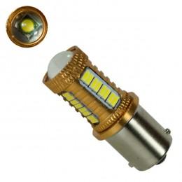Λαμπτήρας 1156 32 SMD 4014 και 1 Cree LED Can Bus 12v Ψυχρό 6000k GloboStar 81230