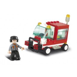 SLUBAN Τουβλάκια Town, Service Vehicle M38-B0180, 68τμχ