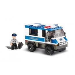 SLUBAN Τουβλάκια Police, Prisoner Trasporterer M38-B0273, 126τμχ
