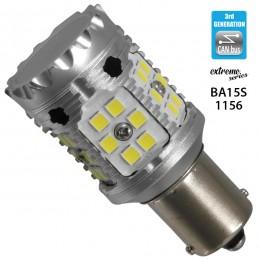 Λαμπτήρας LED Extreme Series Can-Bus 3ης Γενιάς με βάση 1156 28W 12v Ψυχρό Λευκό 6000k GloboStar 81232