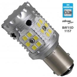 Λαμπτήρας LED Extreme Series Can-Bus 3ης Γενιάς με βάση 1157 28W 12v Ψυχρό Λευκό 6000k GloboStar 81236