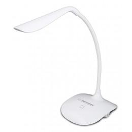 ESPERANZA Φωτιστικό γραφείου Acrux ELD103K, 3W, 14 LED, λευκό
