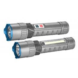 BORMANN Pro BPR6010 Φακός επαναφορτιζόμενος Bormann διπλής λειτουργίας 350 lumens