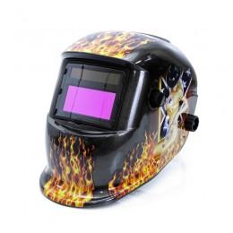 Αυτόματο Κράνος Συγκόλλησης Χρώματος Μαύρο MAR-POL M87014