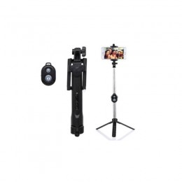 Selfie Stick με Bluetooth και Τηλεχειριστήριο SPM Monopod-Black