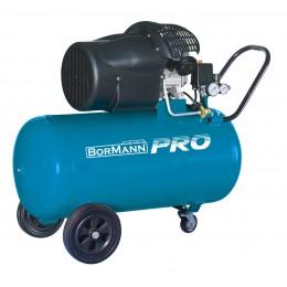BORMANN Pro BAT5040 Αεροσυμπιεστής Μονομπλόκ με Λάδι 100lt 3Hp
