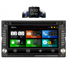 IQ-CR246_GPS Multimedia 2 DIN 6.5΄΄ – Windows CE 6.0 – 800Mhz