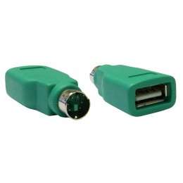 POWERTECH Adapter USB 2.0 σε PS2 male