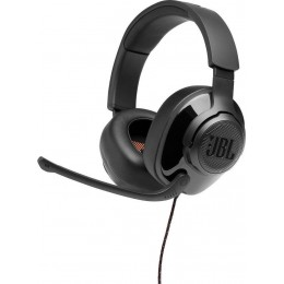 JBL Quantum 200, Over-Ear Wired Gaming Headset Black