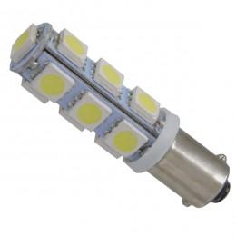 Λαμπτήρας LED Ba9s με 13 SMD 5050 Ψυχρό Λευκό GloboStar 37341