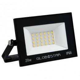 Προβολέας LED OSIRIS 20W 105LM/W 2100LM 120° Μοίρες AC85-265V 2 YEARS WARRANTY Αδιάβροχος IP66 Φυσικό Λευκό 4500k GloboStar 12318
