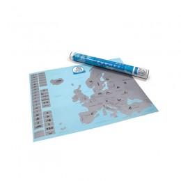 Ευρωπαϊκός Χάρτης Ξυστό 57.4 x 43.1 cm Hoppline HOP1000729