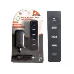 Minwa MWA4U USB POWER BAR 4 OUT - 5V 2000MA