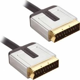 ProfiGold Cable Scart male - Scart male 1m (PROV7101)