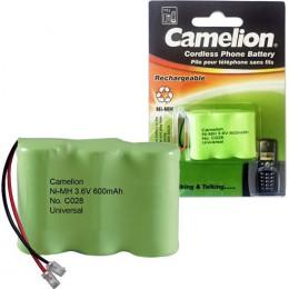 CAMELION C028 ΜΠΑΤΑΡΙΑ  NI-MH 3NH-2/3AA 600mAh
