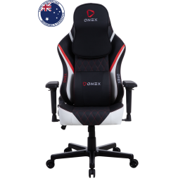 Gaming Καρέκλα - Eureka Ergonomic® ONEX FX8-Black/Red/White