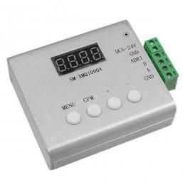 LED RGB GENIUS DMX512 TTL Output Controller SM-XMQ1000A 5-24v για RGB Wall Washer και Digital Neon Strip GloboStar 22629