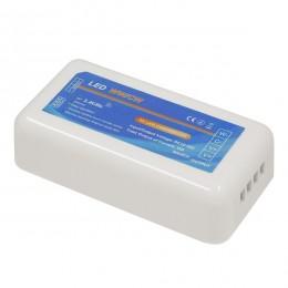 Ασύρματος LED Δέκτης - Receiver Dimmer 2.4G RF CCT 2 Χρωμάτων για Groups 12v (144w) - 24v (288w) DC GloboStar 73353