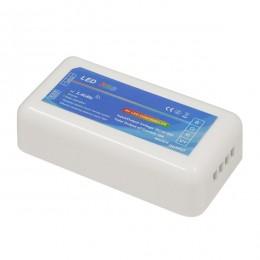Ασύρματος LED Δέκτης - Receiver RGB Controller 2.4G RF για Groups 12v (144w) - 24v (288w) DC GloboStar 73418