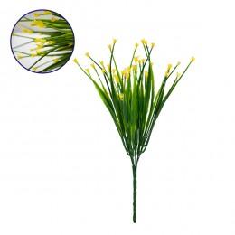 Τεχνητό Φυτό Διακοσμητικό Μπουκέτο Aphyllanthes Κίτρινο M17cm x Υ30cm Π17cm με 7 Κλαδάκια GloboStar 09078