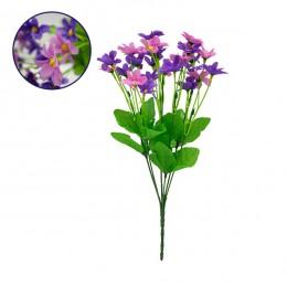 Τεχνητό Φυτό Διακοσμητικό Μπουκέτο Garden Cosmos Μωβ - Ροζ M20cm x Υ35cm Π20cm με 7 Κλαδάκια GloboStar 09088
