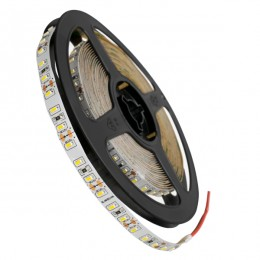 Ταινία LED 3014 SMD 5m 12W/m 120LED/m 1600 lm/m 120° DC 12V IP20 Φυσικό Λευκό 4500k GloboStar 70051