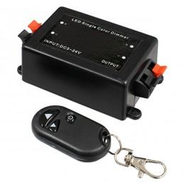 Ασύρματο LED Dimmer με Χειριστήριο RF 5v (40w) - 12v (96w) - 24v (192w) GloboStar 73309