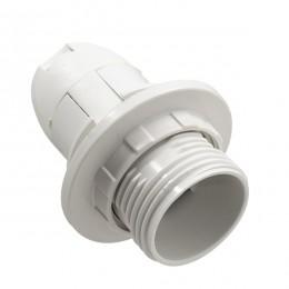 ΣΕΤ Ντουί E14 με Ροδέλα Πλαστικό Λευκό DIY GloboStar 78962