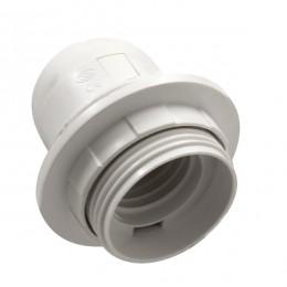 ΣΕΤ Ντουί E27 με Ροδέλα Πλαστικό Λευκό DIY GloboStar 78960